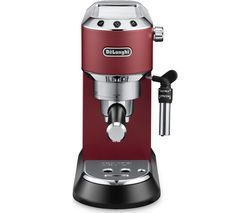 DELONGHI Dedica EC685R Coffee Machine - Red Best Price, Cheapest Prices