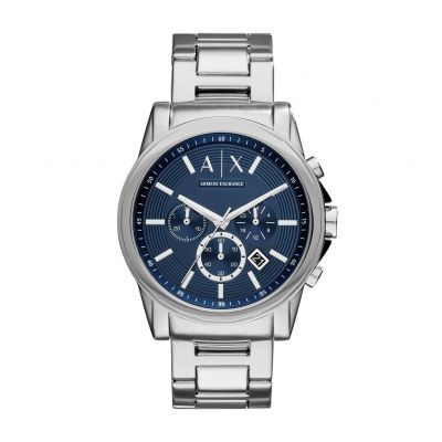 Armani Exchange Unisex Silver Stainless Steel Bracelet Watch Best Price, Cheapest Prices