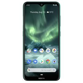 SIM Free Nokia 7.2 64GB Mobile Phone - Cyan Green Best Price, Cheapest Prices