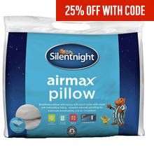 Silentnight Airmax Firm Support Pillow Best Price, Cheapest Prices
