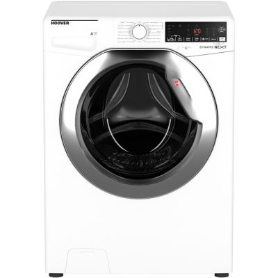 Hoover Dynamic Next DWOA412AHC8/1 Wifi Connected 12Kg Washing Machine with 1400 rpm - White - A+++ Rated Best Price, Cheapest Prices