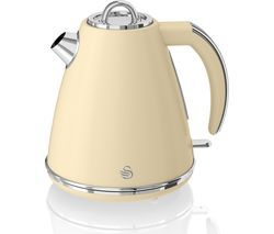 SWAN Retro SK19020CN Jug Kettle - Cream Best Price, Cheapest Prices