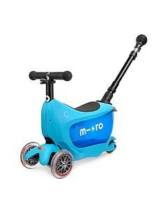 Micro Scooter Mini2Go Deluxe Plus - Blue Best Price, Cheapest Prices