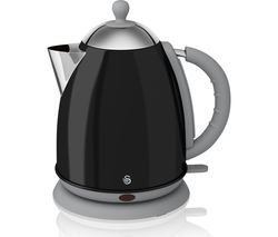 SWAN SK261050BN Jug Kettle - Black Best Price, Cheapest Prices