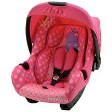Beone Hippo Group 0+ Baby Car Seat - Pink