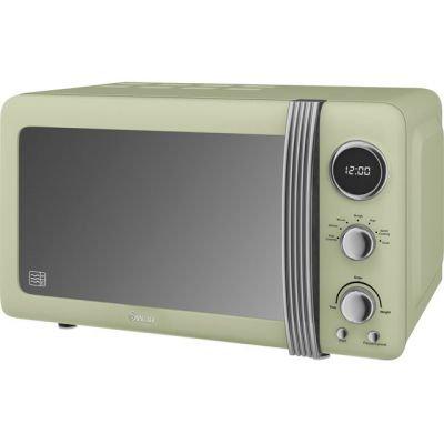 Swan Retro SM22030GN 20 Litre Microwave - Green Best Price, Cheapest Prices