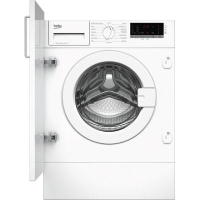Beko WIR725451 Integrated 7Kg Washing Machine with 1200 rpm - A+++ Rated Best Price, Cheapest Prices