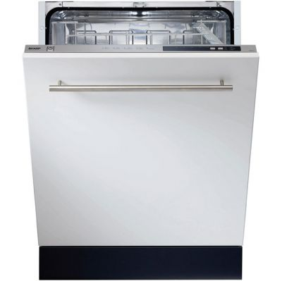 Sharp QW-D21I492X Fully Integrated Standard Dishwasher - Stainless Steel Control Panel - A++ Rated