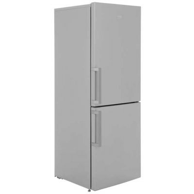 Beko CFP1675S 60/40 Frost Free Fridge Freezer - Silver - A+ Rated Best Price, Cheapest Prices