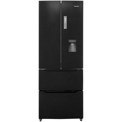 Hisense RF528N4WB1 American Fridge Freezer - Black - A+ Rated Best Price, Cheapest Prices