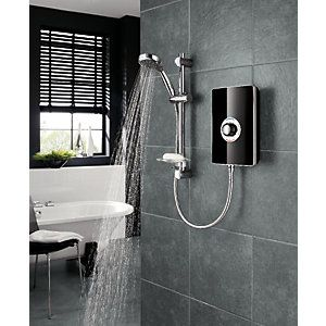 Triton Style Electric Shower - Black Gloss 8.5kW Best Price, Cheapest Prices