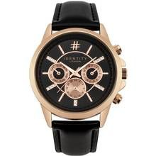Identity London Ladies' Black Strap Watch Best Price, Cheapest Prices