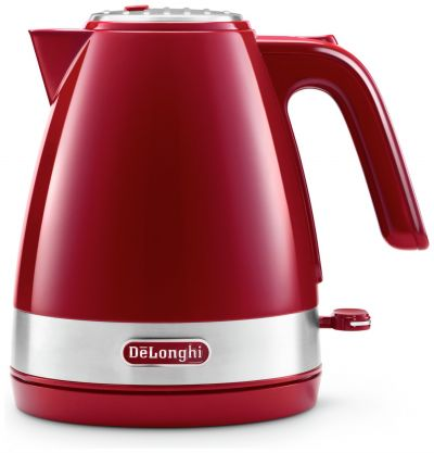 De'Longhi KBLA3001.R Active Line Kettle - Red Best Price, Cheapest Prices