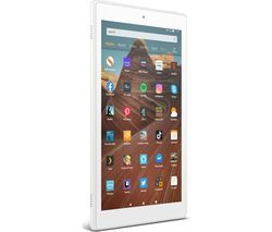 AMAZON Fire HD 10 Tablet (2019) - 32 GB, White Best Price, Cheapest Prices