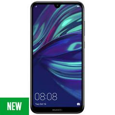 SIM Free Huawei Y7 32GB Mobile Phone - Midnight Black Best Price, Cheapest Prices