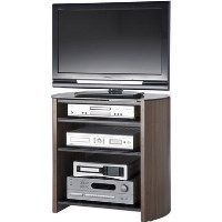 Alphason FW750/4-W/B Finewoods HiFi and TV Stand for up to 37