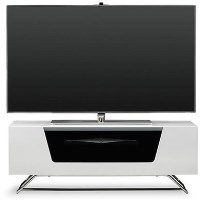 Alphason CRO2-1000CB-WHT Chromium 2 TV Cabinet for up to 50