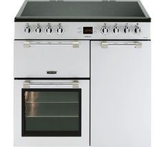 LEISURE Cookmaster CK90C230S 90 cm Electric Ceramic Range Cooker - Silver Best Price, Cheapest Prices