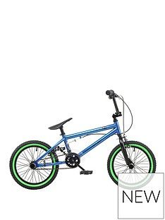 Rooster Rooster R-Core 9 Inch Frame 16 Inch Wheel BMX Bike Blue Best Price, Cheapest Prices