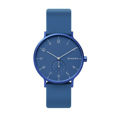 Skagen Kulor Blue Silicone Strap Watch Best Price, Cheapest Prices