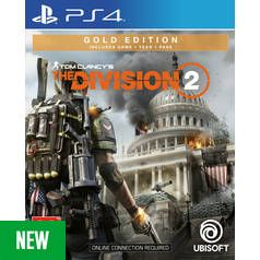 Tom Clancy's The Division 2 Gold Edition PS4 Game Best Price, Cheapest Prices