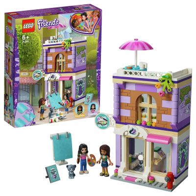 LEGO Friends Emma's Art Studio Playset - 41365 Best Price, Cheapest Prices