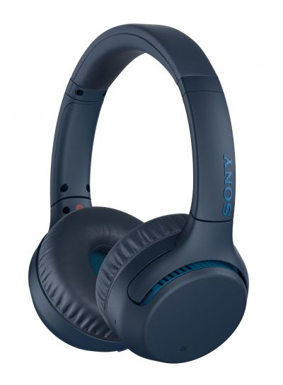 Sony WH-XB700 On-Ear Wireless Headphones - Navy Best Price, Cheapest Prices