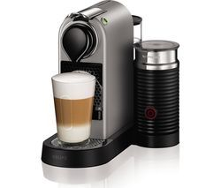 NESPRESSO by Krups Citiz & Milk XN760B40 Coffee Machine - Silver Best Price, Cheapest Prices