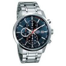 Lorus Men's Stainless Steel Bracelet Chronograph Watch Best Price, Cheapest Prices