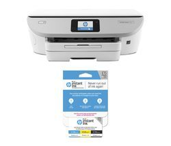 HP ENVY Photo 7134 All-in-One Wireless Inkjet Printer & Instant Ink £15 Prepaid Card Bundle Best Price, Cheapest Prices