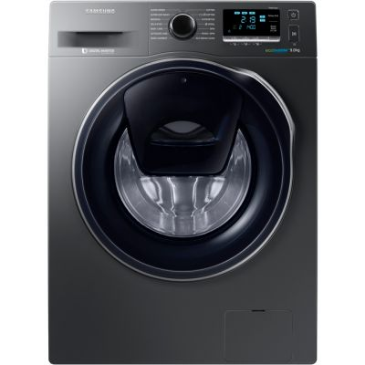 Samsung AddWash™ ecobubble™ WW90K6414QX 9Kg Washing Machine with 1400 rpm - Graphite - A+++ Rated Best Price, Cheapest Prices