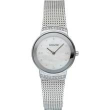 Accurist Ladies' Stone Set Milanese Watch Best Price, Cheapest Prices