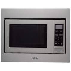 Belling BIMW60 900W Built In Microwave - Stainless Steel Best Price, Cheapest Prices