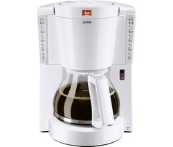 MELITTA Look IV Filter Coffee Machine - White Best Price, Cheapest Prices
