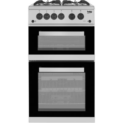 Beko KDVG592S Gas Cooker with Full Width Gas Grill - Silver - A+/A Rated Best Price, Cheapest Prices