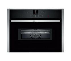 NEFF C27MS22N0B Built-in Combination Microwave - Stainless Steel Best Price, Cheapest Prices