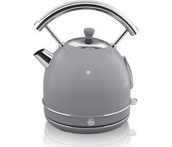 SWAN Retro SK34021GRN Traditional Kettle - Grey Best Price, Cheapest Prices