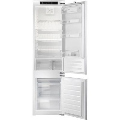 Whirlpool ART228/80A+/SF.1 Integrated 70/30 Fridge Freezer with Sliding Door Fixing Kit - White - A+ Rated Best Price, Cheapest Prices