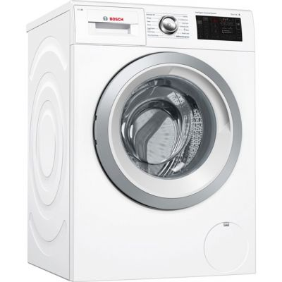Bosch Serie 6 i-Dos™ WAT286H0GB Wifi Connected 9Kg Washing Machine with 1400 rpm - White - A+++ Rated Best Price, Cheapest Prices