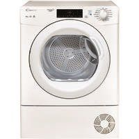 Candy GSVC10TG 10kg Freestanding Condenser Tumble Dryer With Bottom Drawer - White Best Price, Cheapest Prices