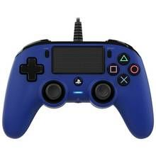 PS4 Nacon Wired Controller - Blue Best Price, Cheapest Prices