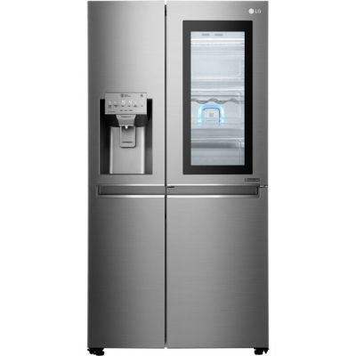 LG InstaView™ Door-in-Door™ GSX961NSAZ Wifi Connected American Fridge Freezer - Stainless Steel - A++ Rated Best Price, Cheapest Prices