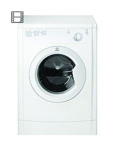 Indesit Ecotime IDV75 7kg Load Vented Tumble Dryer - White Best Price, Cheapest Prices