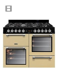 Leisure CK100G232C Cookmaster 100 100cm Gas Range Cooker with optional Connection - Cream Best Price, Cheapest Prices