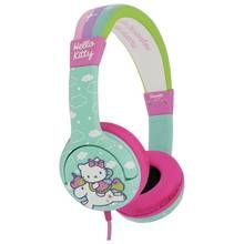 Hello Kitty Kids On-Ear Headphones - Blue / Pink Best Price, Cheapest Prices