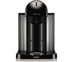 NESPRESSO by Krups Vertuo XN901840 Coffee Machine - Black Best Price, Cheapest Prices