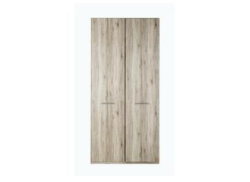 Samara 2 Door Wardrobe - Oak Best Price, Cheapest Prices