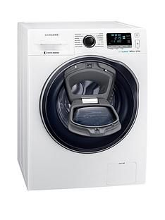 Samsung WW80K6610QW/EU 8kg Load, 1600 Spin AddWash™ Washing Machine with ecobubble™ Technology and 5 Year Samsung Parts and Labour Warranty - White Best Price, Cheapest Prices