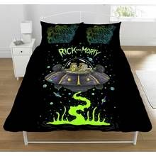 Rick and Morty UFO Spaceship Duvet Set - Double Best Price, Cheapest Prices