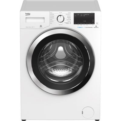 Beko WR860441W 8Kg Washing Machine with 1600 rpm - White - A+++ Rated Best Price, Cheapest Prices
